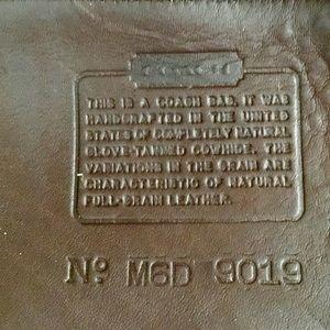 Coach Bags - Vintage Coach 9019 Brown Crossbody Hobo Bucket Bag